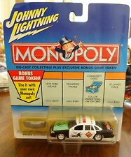 Johnny Lightning Monopoly Diecast Car & Token NIP Do Not Go Crown Victoria