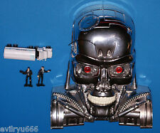 TERMINATOR MICRO MACHINES TRANSFORMING ACTION PLAYSET T-800 HEAD GALOOB