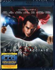 L'UOMO D'ACCIAIO - BLU RAY DISC NUOVO!
