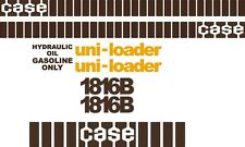 Case 1816B replacement decals sticker / Decal kit Early