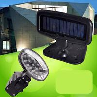Lampe Eclairage Solaire Murale Porte / Capteur de Mouvement + Détecteur Lumière