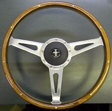 1967 FORD Mustang MARK 3 ELEANOR COBRA STEERING WHEEL With Adapter, Horn & Emblm