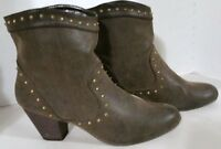 """Women's Nicole """"Dinah"""" Faux suede, studded Ankle Boots, US 8.5M"""
