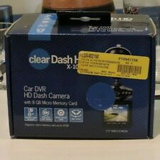 "Brand New Clear Dash Cam HD X-1000 DVR 2.5"" Car Truck Vehicle with 8GB Micro SD"