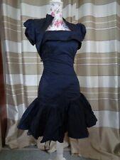 (A297) Ausgefallenes Damen Abendkleid  + Bolero GR: 34