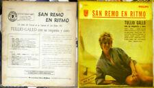 TULLIO GALLO San Remo En Ritmo Cuando Vida URUGUAY SEXY CHEESECAKE COVER LP