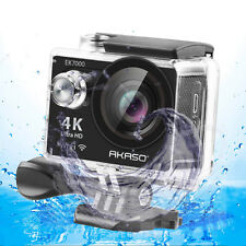 AKASO EK7000 4K WIFI Sports Action Camera Waterproof DV Camcorder 12MP Refurbish