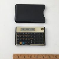 Vintage HP12C Financial Calculator with Case -  Batteries Included - Fast Ship
