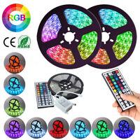 LED Strip Light RGB 5050 SMD 2835 Flexible Ribbon RGB Stripe 5M 10M 3M tape kit