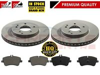 FOR MERCEDES C CLASS C200 C220 CDI (01-07) FRONT BRAKE DISCS AND PADS 288MM