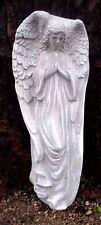 """guardian angel poly plastic plaque mold concrete plaster mould 14.5"""" x 6"""""""
