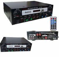 AMPLIFICATORE PER AUDIO RADIO MP3 BLUETOOTH B7-7388 HI FI MUSICA KARAOKE