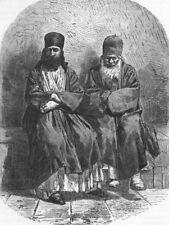 EURASIA. Caucasus I. Armenian Monks, Etchmiadzin 1880 old antique print