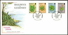 Guernsey 1975 Ferns FDC First Day Cover #C32292