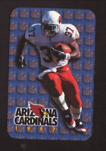 Arizona Cardinals--Larry Centers--1997 Pocket Schedule--Gatorade