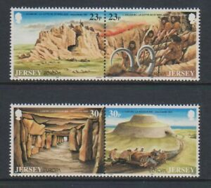 Jersey - 1994, Europa, Archaeological Discoveries set - MNH - SG 655/8
