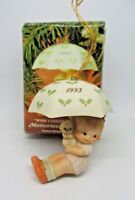 """Enesco Memories of Yesterday Ornament """"I WISH I COULD FLY TO YOU"""" 1993 w/box"""