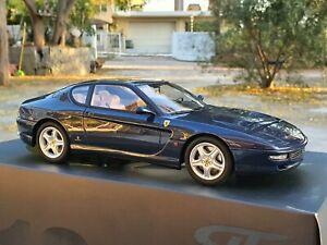 1:18 Ferrari 456 M GT Coupe 1998 Blue By GT Spirit GT239 (417/999 pcs )