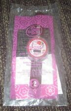2008 Hello Kitty McDonalds Happy Meal Toy Watch - Brown Floral #2