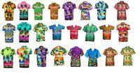 MENS HAWAIIAN  SUMMER BEACH HAWAII CASUAL PARTY SHIRT FANCY DRESS TOPS
