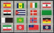 United Nations - New York postfris 1988 MNH 553-568 - Vlaggen / Flags