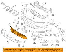 VW VOLKSWAGEN OEM Jetta Front Bumper-Lower Bottom Grille Grill 5C6853671T9B9