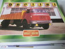 Super trucks multifonctions camions FRANCE BERLIET gck160, 1966