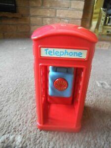 ELC HAPPYLAND ~ TELEPHONE KIOSK / BOX  ~   WITH SOUND   VGC