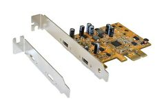 Exsys ex-12010 - PCI-Express mapa (x1) USB 3.1 2x C-Port, Super-Speed + (10 Gbps)