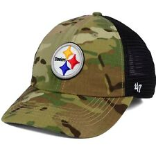 Pittsburgh Steelers  47 Brand NFL Camo Closer S M Relaxed Flexfit Cap Hat 93f6e544a