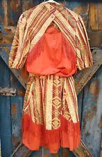 Western Skirt & Shirt Fringe Square Dance Cowgirl Retro Rockabilly