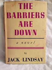 Jack Lindsay - The Barriers Are Down - 1st/1st 1945 in Original DW, Ancient Rome