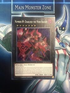 Number 89:Diablosis The Mind Hacker-Super Rare-YCSW EN010 Prize Card