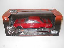 Highway 61 1:18 Diecast - 1967 Plymouth GTX - Red 50260 MIB