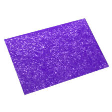 Us Guitar Pickguard Blank Sheet Scratch Plate 4Ply 430x290x2.3mm Purple Pearl