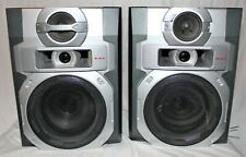 RCA RS2764 300W AM/FM 5-CD Shelf Stereo System SPEAKERS ONLY