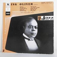 33T 25cm Disque King OLIVER Trompette SNAKE RAG Prix Jazz Hot 1958 PHILIPS 07871