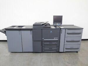 Konica Minolta Bizhub PRESS 1052 copier printer scan 105 ppm 590K meter