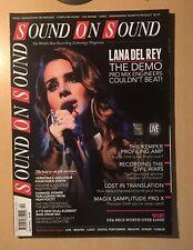 Sound On Sound Magazine April 2012 Lana Del Rey