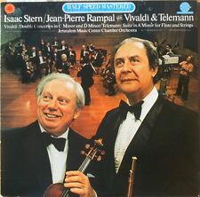 Scarce Half-Speed Matered Isaac Stern Jean-Pierre Rampal Play Vivaldi & Telemann