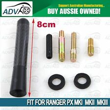 ANTENNA AERIAL STUBBY BEE STING For FORD PX PX2 RANGER 2012-2019 BLACK CARBON
