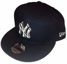 New York Yankees MLB Baseball New Era 9Fifty Metal Thread Navy Snapback Hat Cap