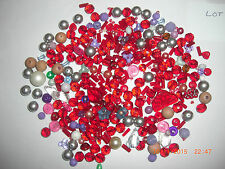200g Mixed Lot Beads for Jewellery Making and Craft 100s Glass & Acrylic Lot 18