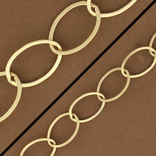 Large Gold Chain, Big 14kt Gold Filled Oval Cable, Chain by the foot, 14kt 4801F