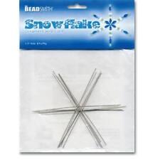 Beadable Snowflake Forms Various Sizes