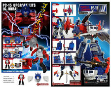 Transformers Perfect Effect Combiner PC-18 + PC-15 Upgrade Kits Set NEW Rare