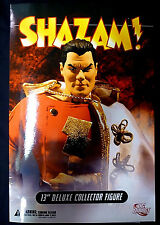 "Shazam 13"" Inch Deluxe Boxed Action Figure Doll New DC Comics 2007"