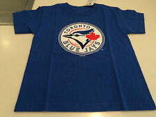 Toronto Blue Jays Kids Youth Small MLB Baseball Basic Team Logo T Shirt Bulletin