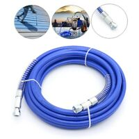 """15M 1/4"""" High-pressure Tube Airless Paint Spray Hose Pipe For Airless Sprayer"""