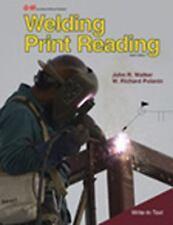 WELDING PRINT READING - NEW PAPERBACK BOOK